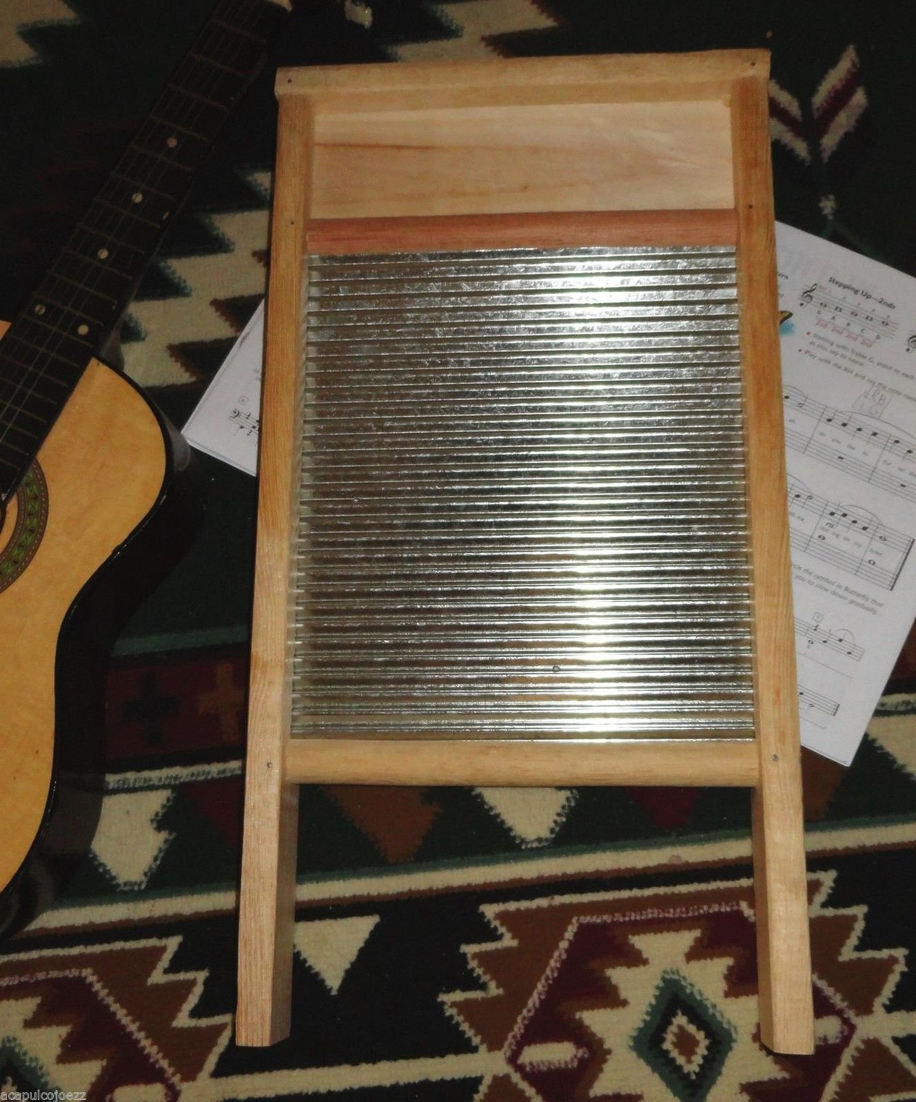 NEW Tallador Musical Acoustic Percussion Musicians Washboard Size 23 inches -WASHBOARD 23 INCHES