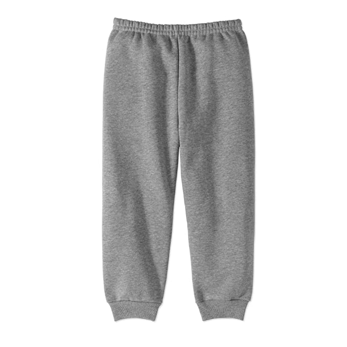 156b18bcb35da Garanimals Baby Toddler Girls' Solid Fleece Sweatpants (3T, Medium Grey  Heather)