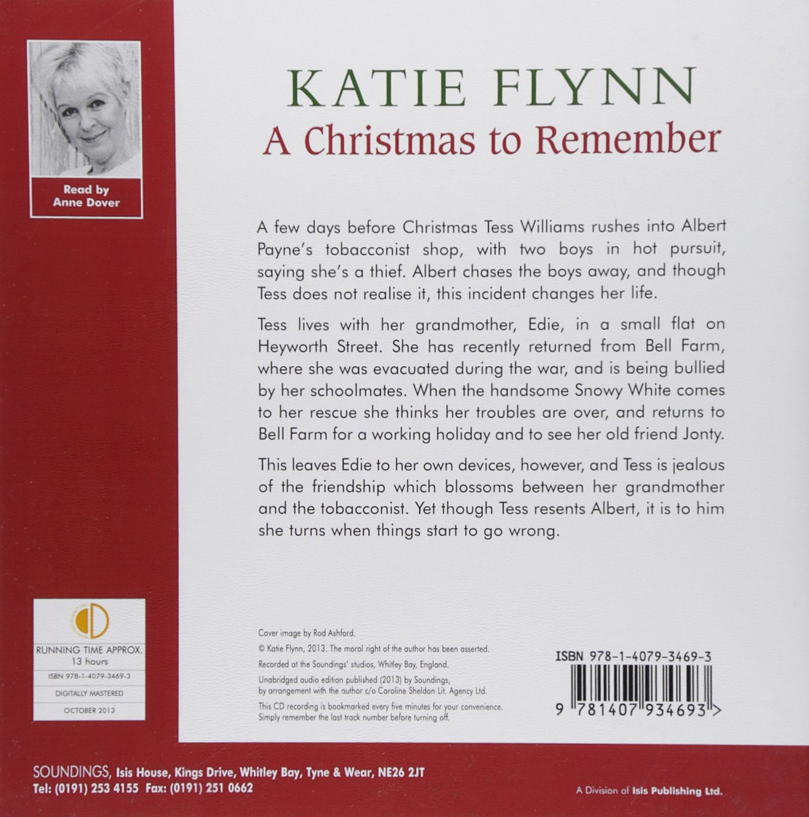 A Christmas To Remember: Katie Flynn, Anne Dover: 9781407934693 ...