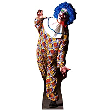 Buy Sc1071 It Is A Very Scary Male Clown Cardboard Cutout Standup Online At Low Prices In India Amazon In