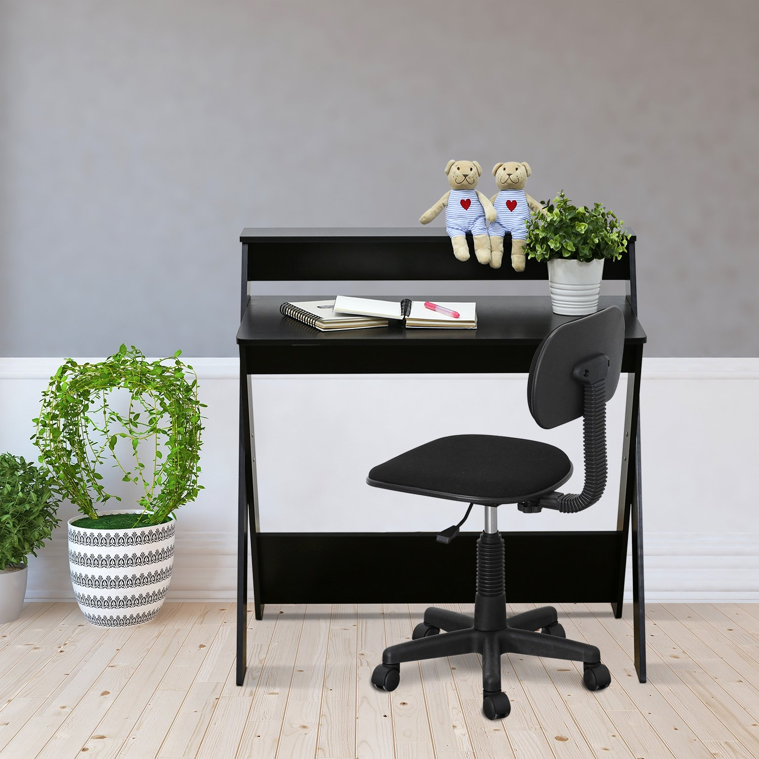 Furinno 16047EX Simplistic Criss-Crossed Home Office Study Desk by Furinno (Image #5)