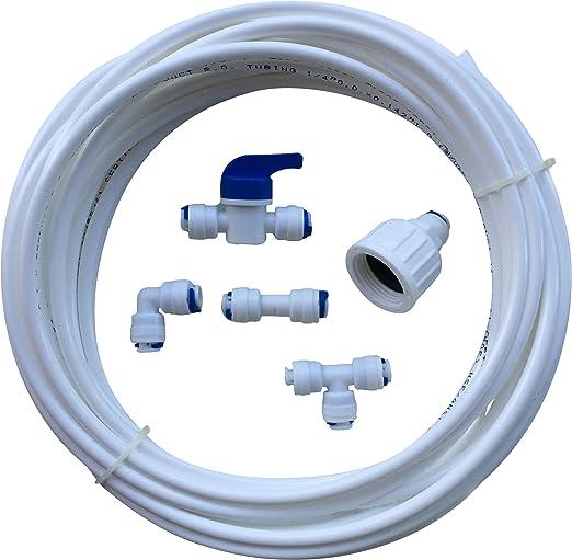 Rosca de conexión del filtro de agua del congelador nevera ...