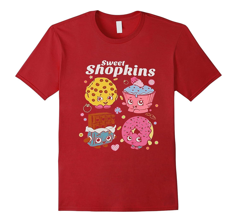 Shopkin'ss Sweet Treat Purple Toddler T-Shirt-BN