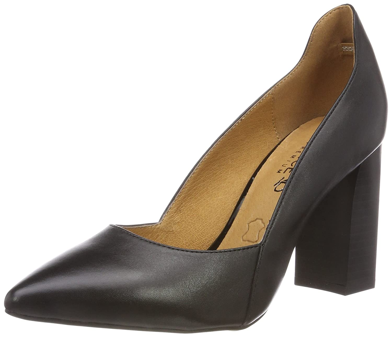Caprice 22401, Zapatos de Tacón para Mujer 36 EU|Negro (Black Nappa 22)