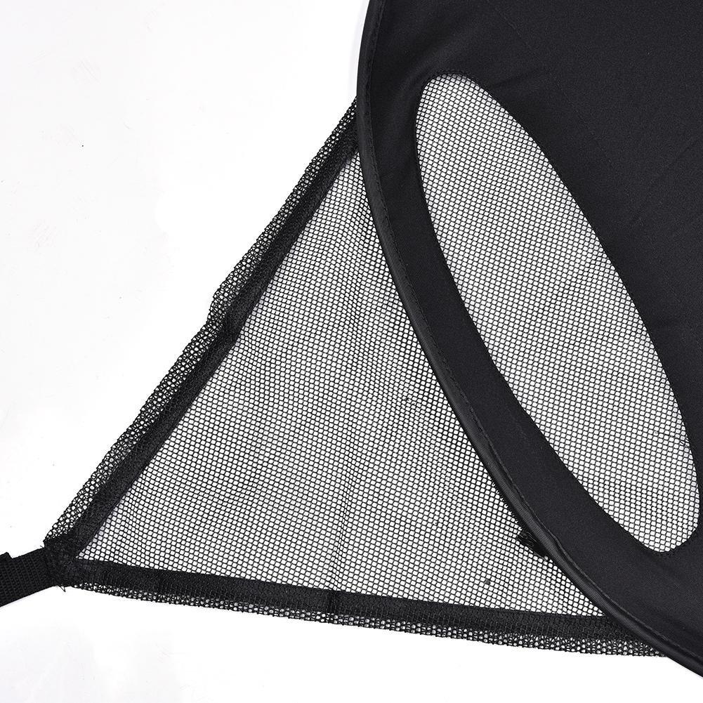 Sue-Supply 2-en-1 Cochecito De Beb/é Sombrilla Y Mosquitero Toldo Impermeable Y A Prueba De Viento Paraguas Anti-UV con Dosel Ajuste Universal para Carrito