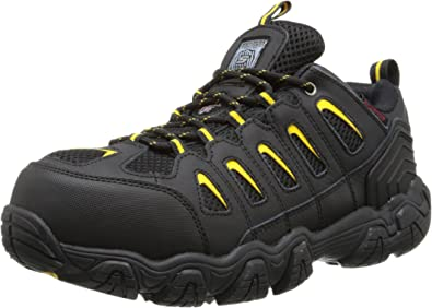 fuerte Ideal Vegetales  Amazon.com | Skechers for Work Men's Blais Steel-Toe Hiking Shoe | Hiking  Shoes