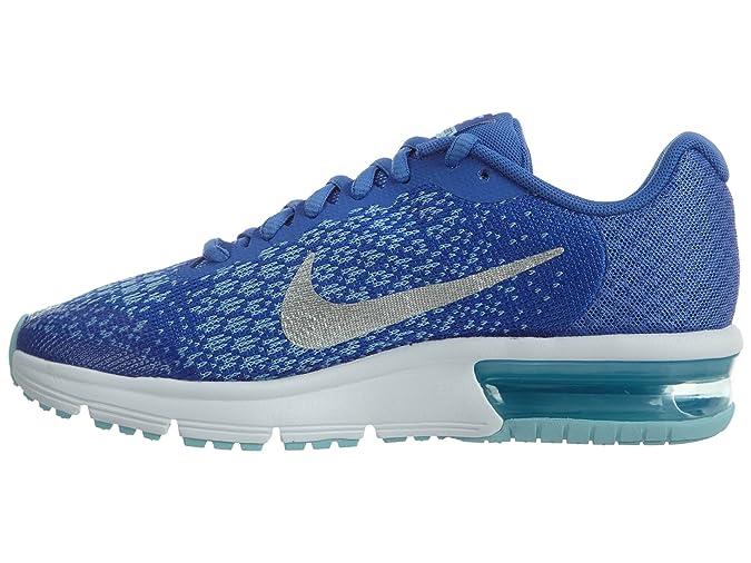 Nike Performance Girls Laufsneakers Air Max Sequent 2 Blau
