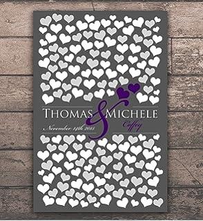 Amazon.com: 11 x 17 libro de invitados de boda, boda libro ...