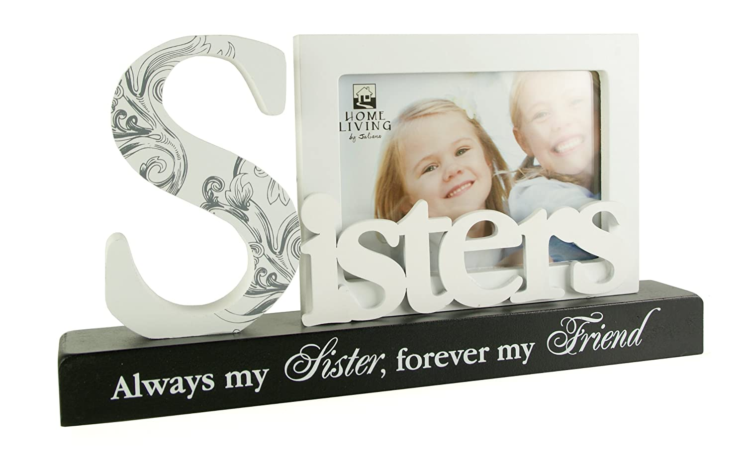 Sisters Photo Frame Gift With Plaque by ukgiftstoreonline: Amazon.co ...
