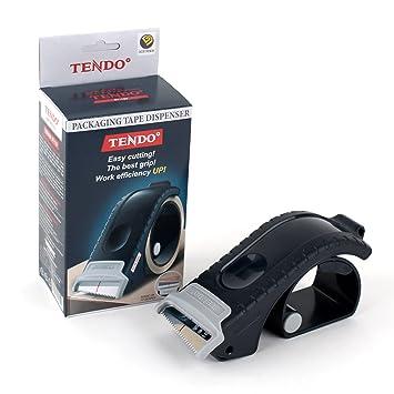 Mano dispensador de cinta de embalaje Tendo sy-123 portátil deber: Amazon.es: Oficina y papelería