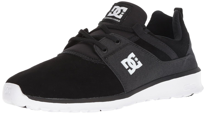 DC Men's Heathrow SE Skate Skateboarding Shoe 14 D D US|Black/Battleship/Whi