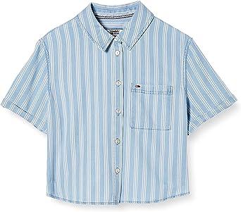 Tommy Hilfiger Tjw Summer Super Crop Shirt Camisa para Mujer: Amazon.es: Ropa y accesorios