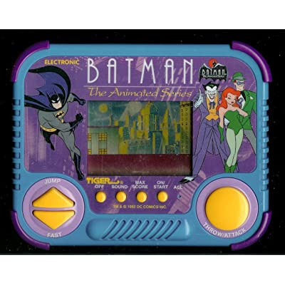 1990s Batman Animated Series Tiger Electronic Handheld Pocket Arcade Video Game: Toys & Games
