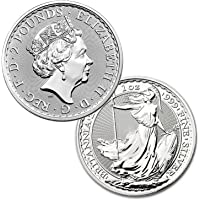 2020 Great Britain Silver Britannia 1 oz .999 BU £2 Brilliant Uncirculated