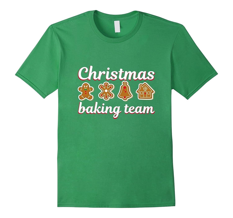 Christmas Baking Team Gingerbread man Cookie Shirt