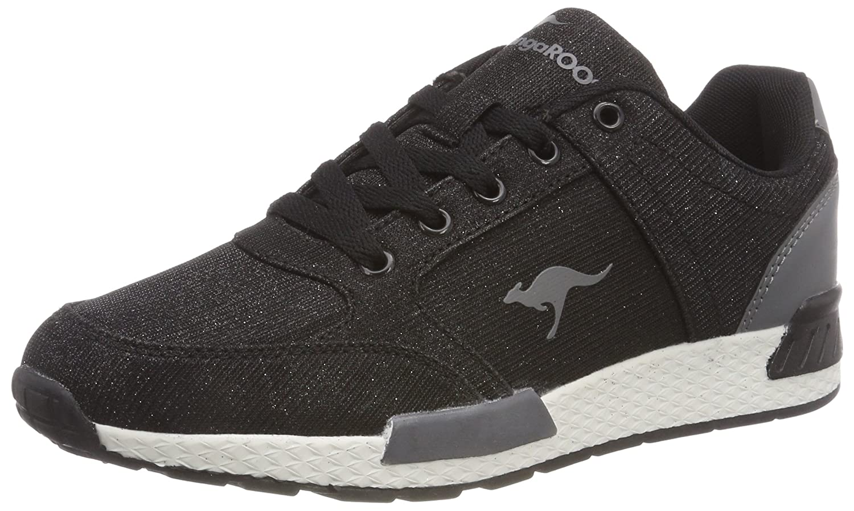 KangaROOS Damen W-700 Sneaker Schwarz (Jet schwarz)