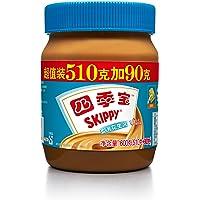 SKIPPY 四季宝柔滑花生酱超值装(510g+90g)600g