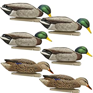 AvianX Top Flight Duck Back Water Mallard Decoy