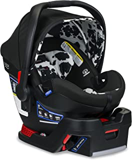 product image for BRITAX B-Safe Ultra Infant Car Seat - Rear Facing | 4 to 35 Pounds - Reclinable Base, 2 Layer Impact Protection, Cowmooflage (E1C001Q)