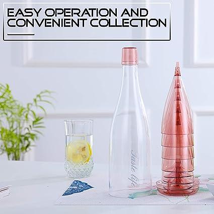 Amazon.com: Vasos de vino de plástico irrompibles con bonito ...