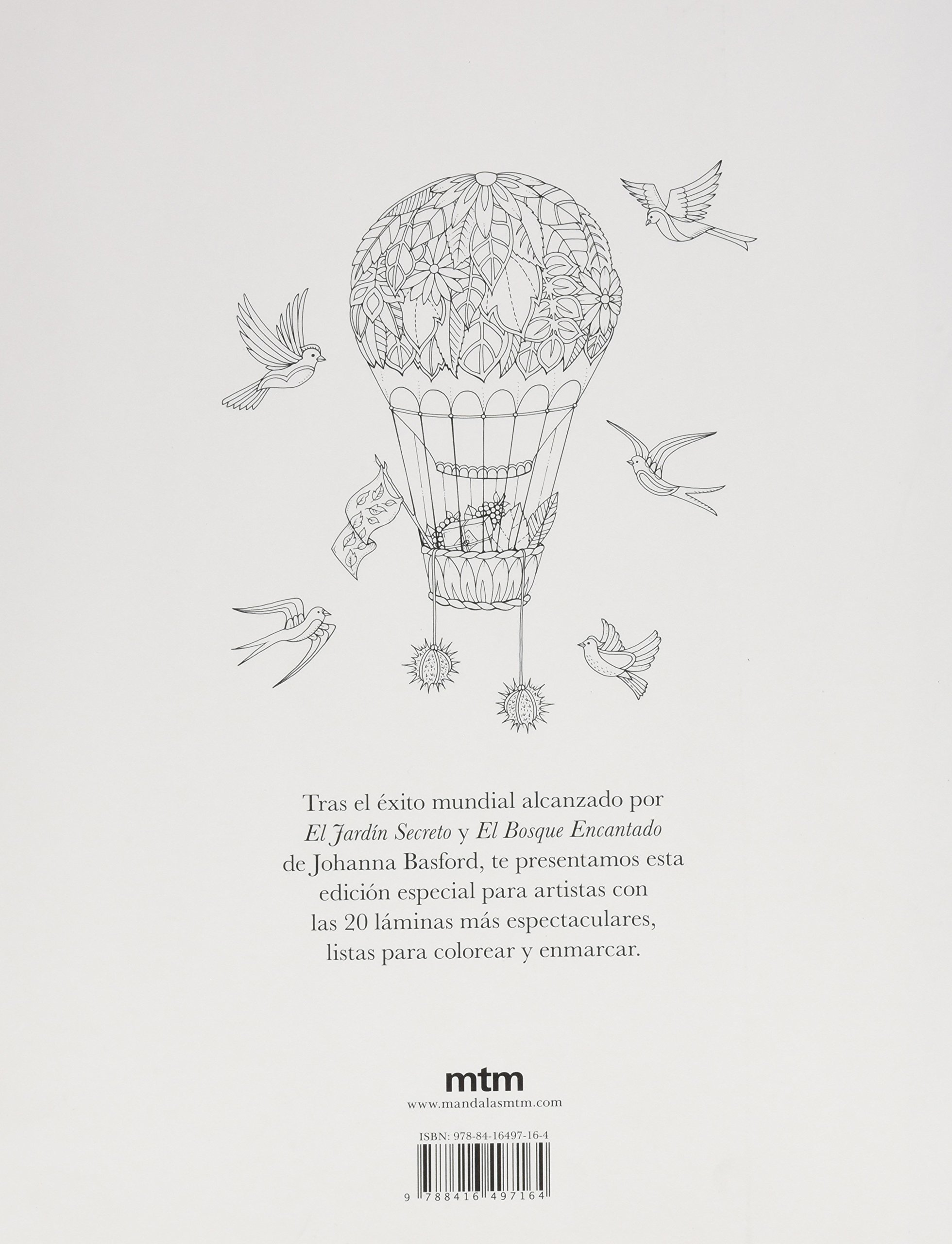 Bosque encantado. Edición para artistas: Amazon.es: Johanna Basford ...