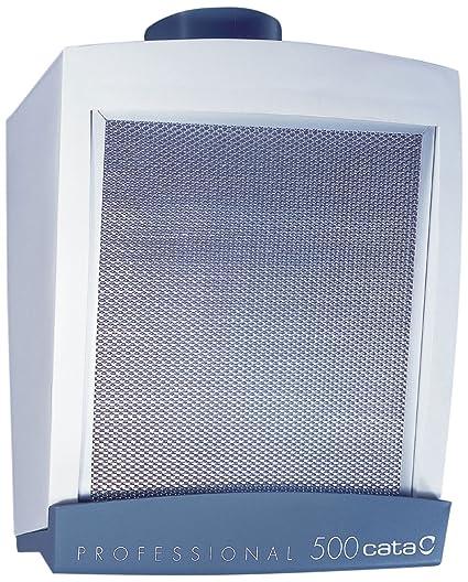 Cata Professional 500 Extractor centrífugo de Cocina, 125 W, 230 V, Blanco y