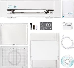 Silhouette Curio Digital Crafting Machine with 8.5 Inch x 6 Inch Tray
