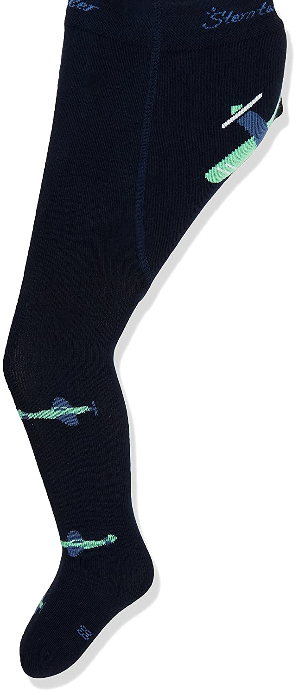 Sterntaler Baby Boys' Strumpfh. Flieger Mit Po-Motiv Tights 8601801