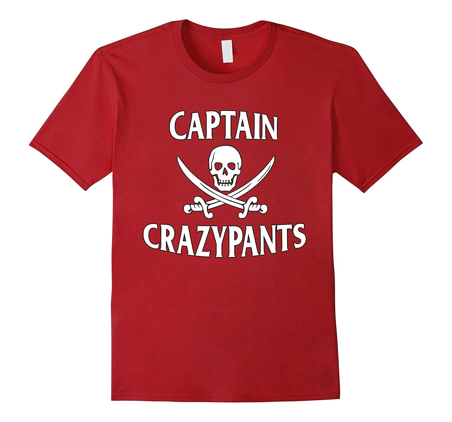 3272f85a Pirate T-Shirt Captain CrazyPants Pirate Costume-PL – Polozatee