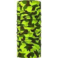 Buff Block Camo Original Tubular, Unisex Adulto, Verde