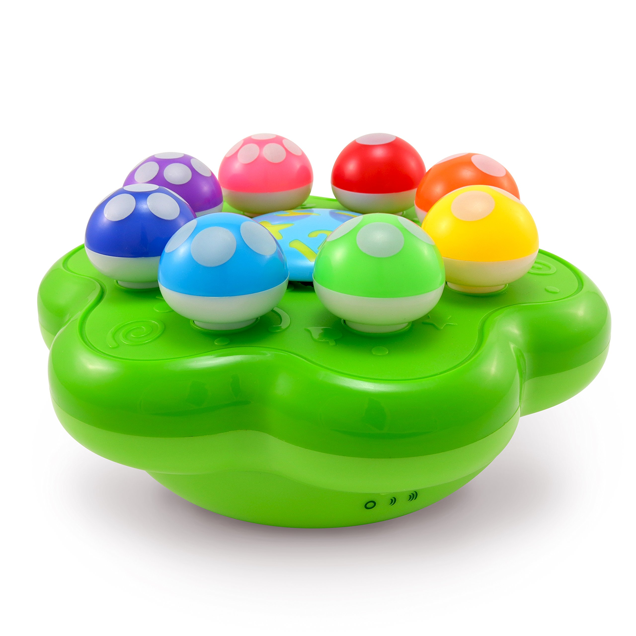 BEST LEARNING Mushroom Garden - Interactive Educational Light-Up Toddler Toys for 1 to 3 Years Old Infants & Toddlers - Colors, Numbers, Games & Music for Kids by BEST LEARNING (Image #5)