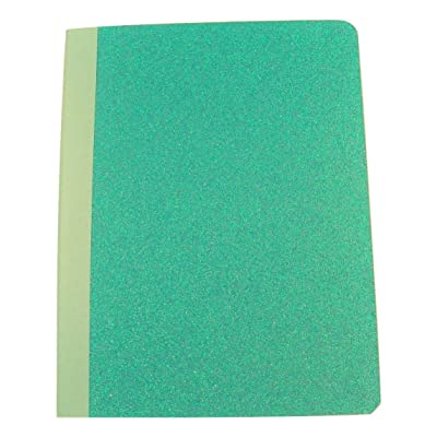 "Studio C Carolina Pad Wide Ruled Composition Book ~ All A Flutter (Turquoise; 7.5"" x 9.75""; 100 Sheets, 200 Pages): Toys & Games"