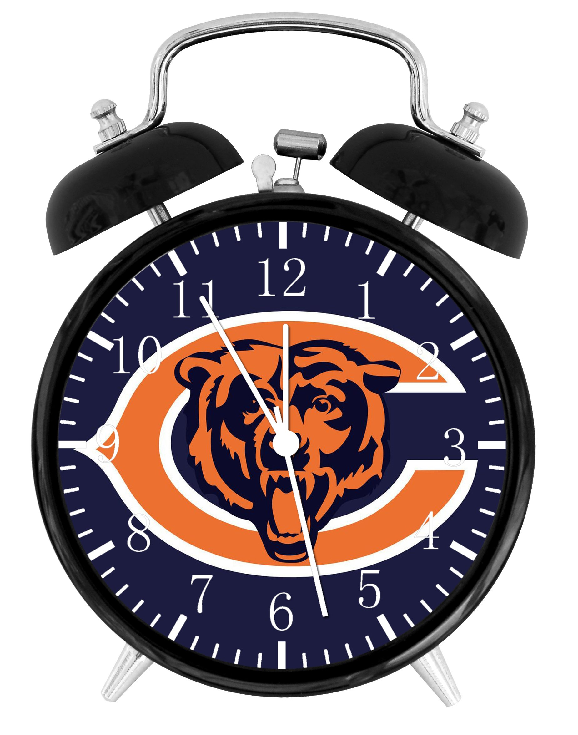 Chicago Bears Alarm Desk Clock 3.75'' Home Office Decor F17 Nice For Gifts