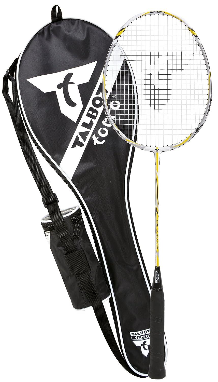 Yellow 6 pieces Talbot-Torro Badminton Shuttlecock Tech 450 in Premium Nylon