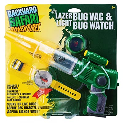 Backyard Safari Laser Bug Vacuum & Watch: Toys & Games