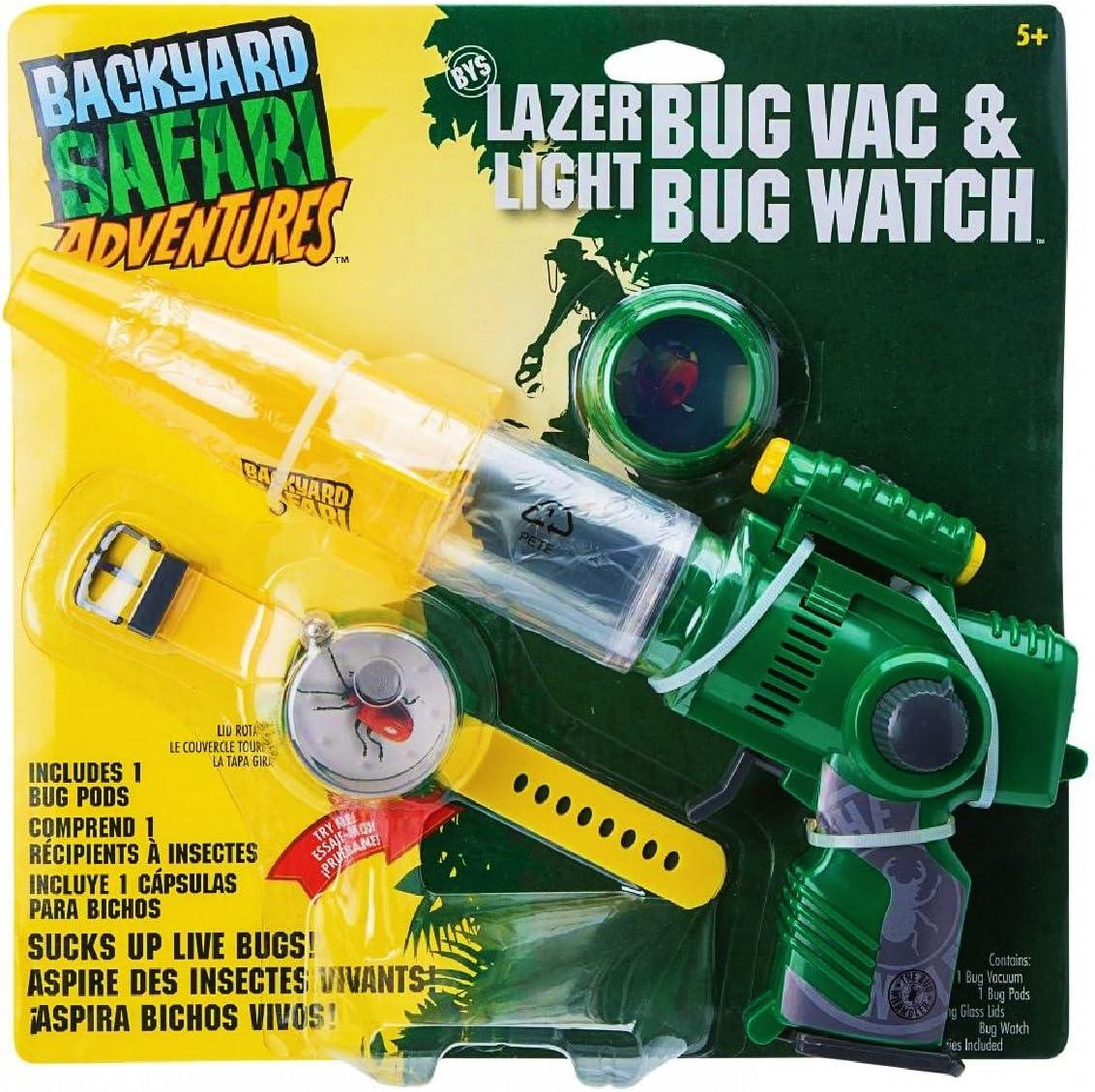 Backyard Safari Laser Bug Vacuum & Watch