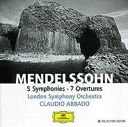 Mendelssohn: 5 Symphonies, 7 Overtures