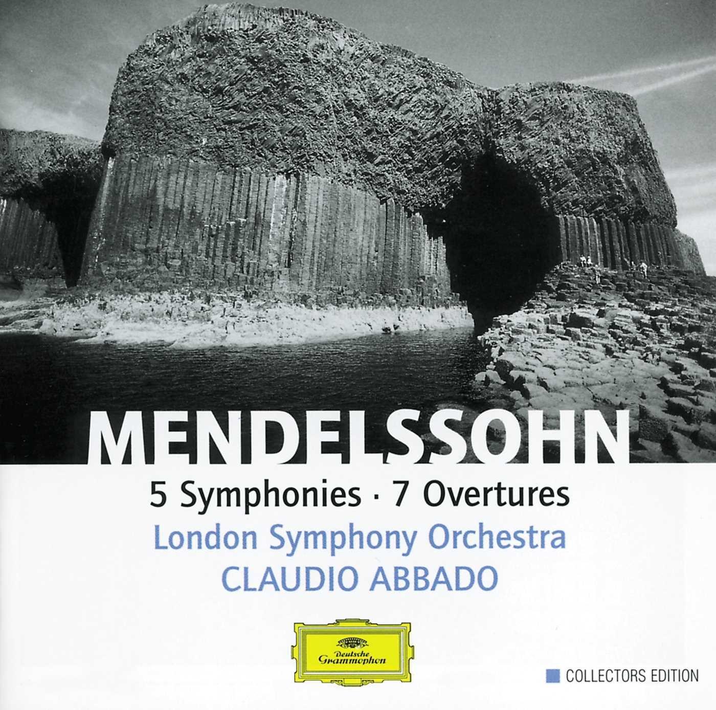 Mendelssohn: 5 Symphonies, 7 Overtures by Deutsche Grammophon