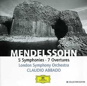 Mendelssohn Symphonies Nos.1 5 7 Overtures