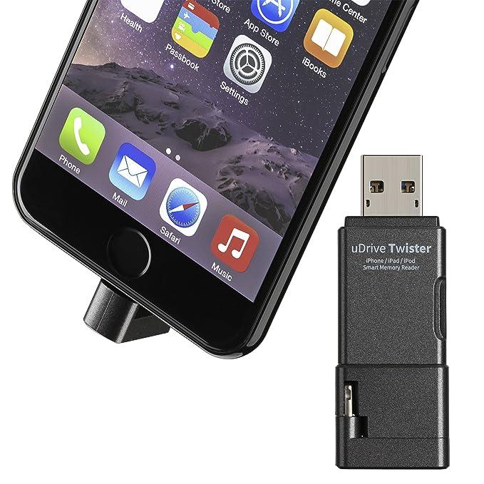 1 opinioni per GMYLE [Certificato Apple MFi] Lettore Lightning di schede Micro SD per iPhone