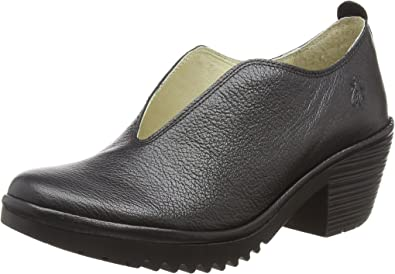 TALLA 39 EU. Fly London Walk908fly, Zapatos de tacón con Punta Cerrada para Mujer