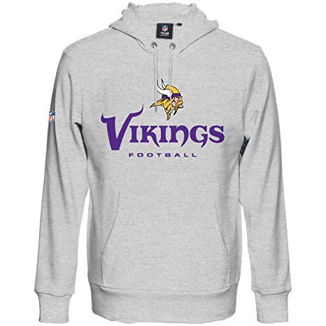 Amazon.com   Majestic Our Team Hoody - Minnesota Vikings Grey ... 4393c4afe