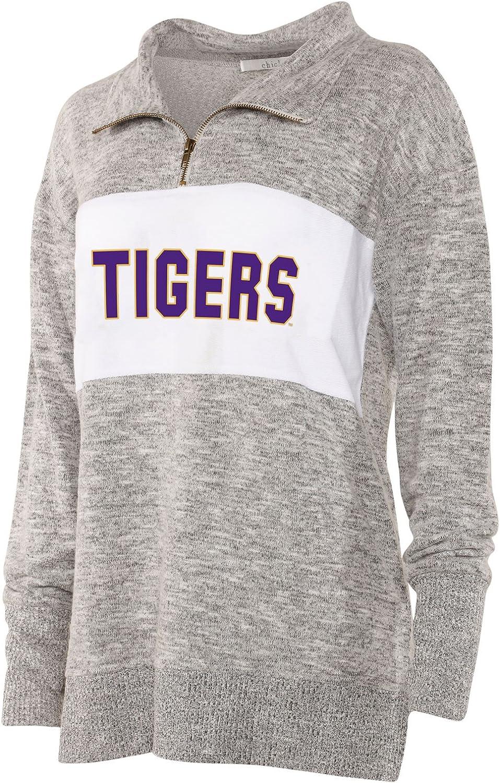 chicka-d Ladies Cozy Fleece Quarter Zip Sweater//Pullover//Sweatshirt