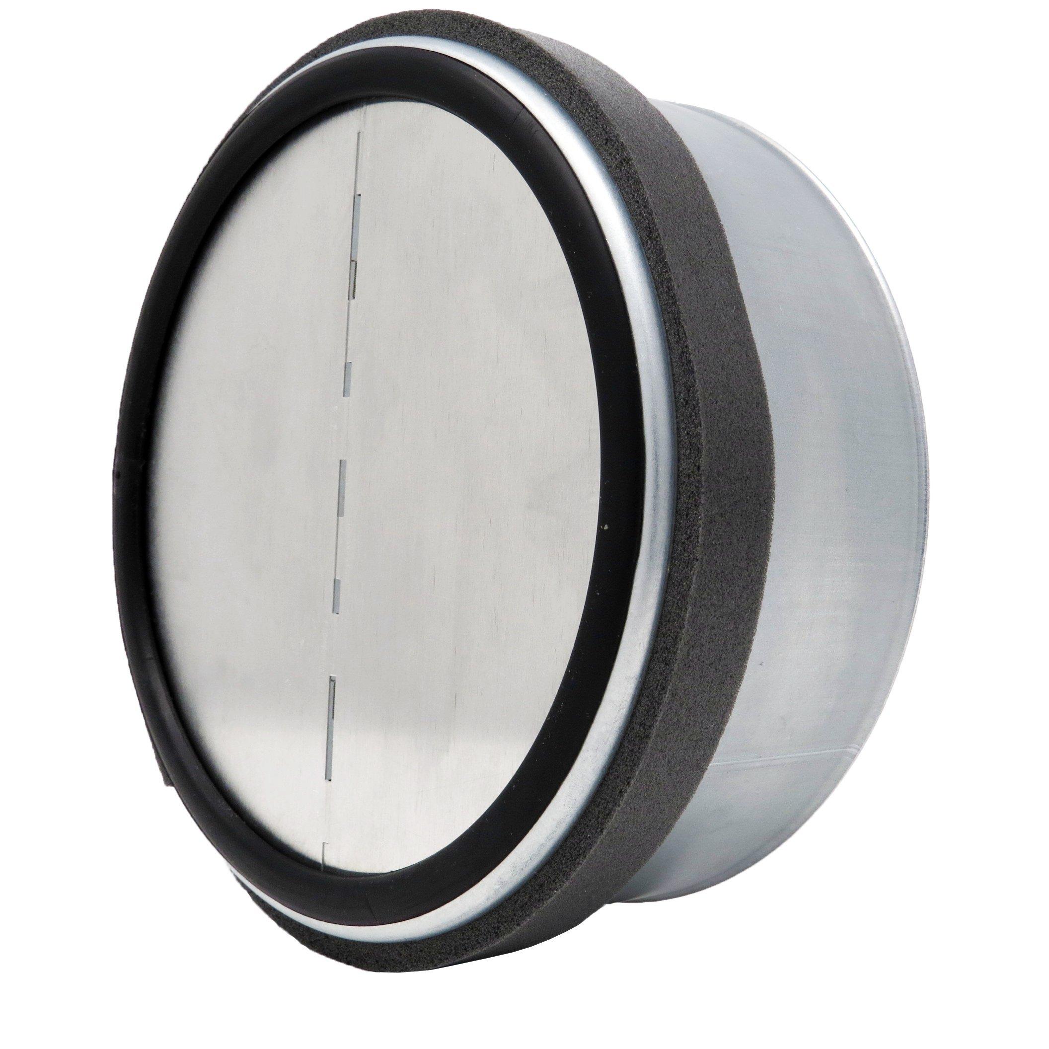 ALDES 5 Inch (5'') Round Spring Loaded Backdraft Damper - Professional Grade