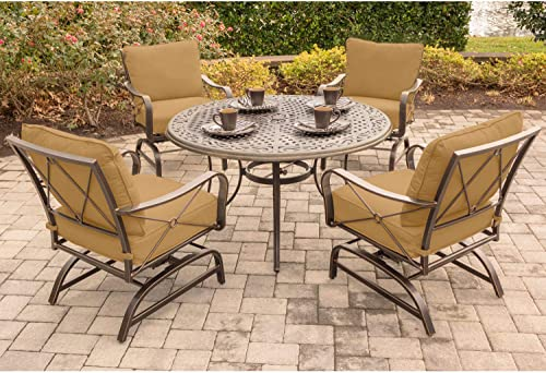Hanover SUMRNGTDN5PCCST Summer Nights 5 Piece Dining Set