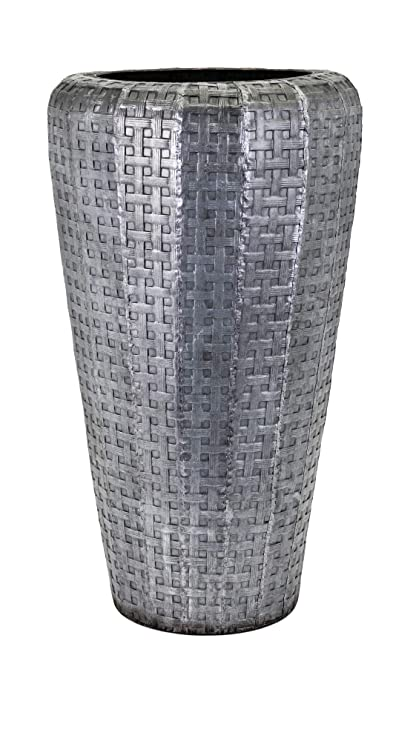 Amazon Com Benzara Bm138747 Jones Short Oversized Floor Vase Beige