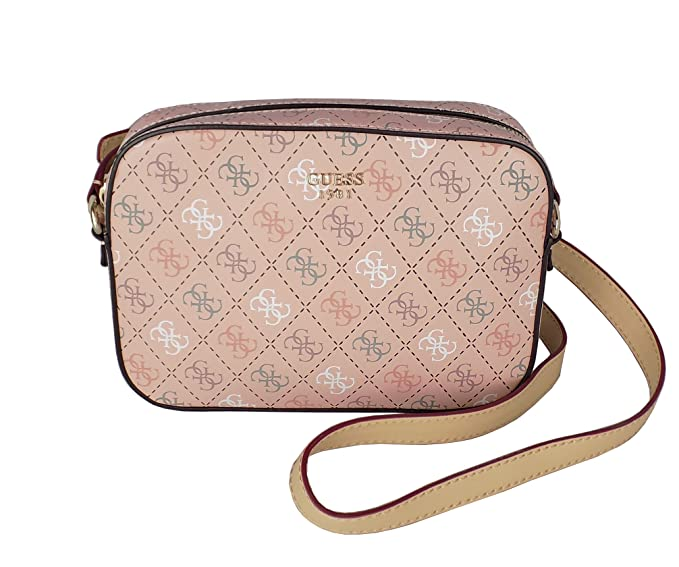 561dc16d6c47df Image Unavailable. Image not available for. Colour: Guess Kamryn Shoulder  Bag rose