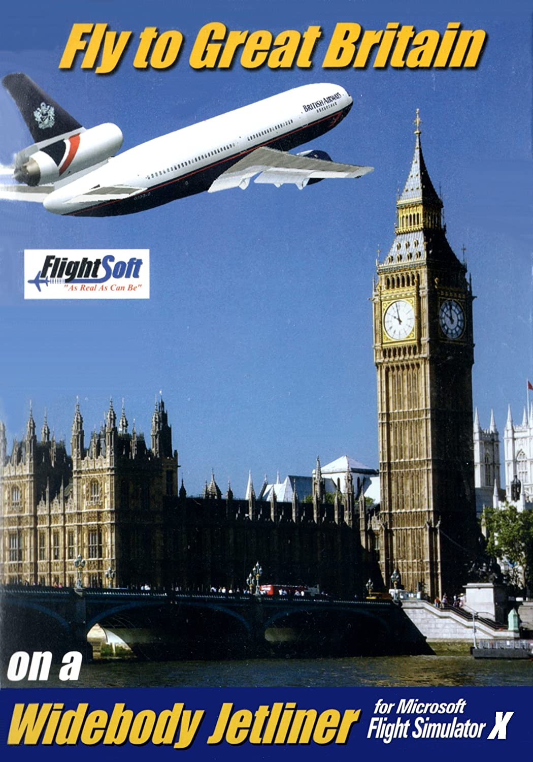 Amazon com: Fly To Great Britain FSX [Download]: Video Games
