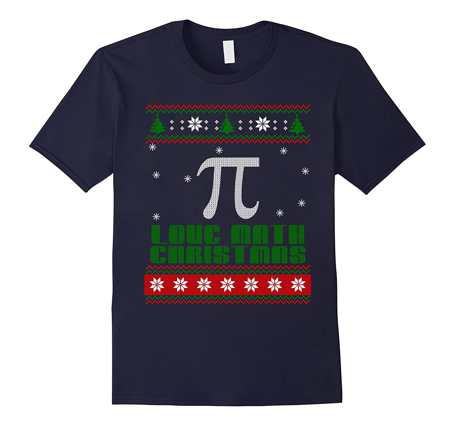 Christmas Ugly 2016 For Love Math T shirt-CL