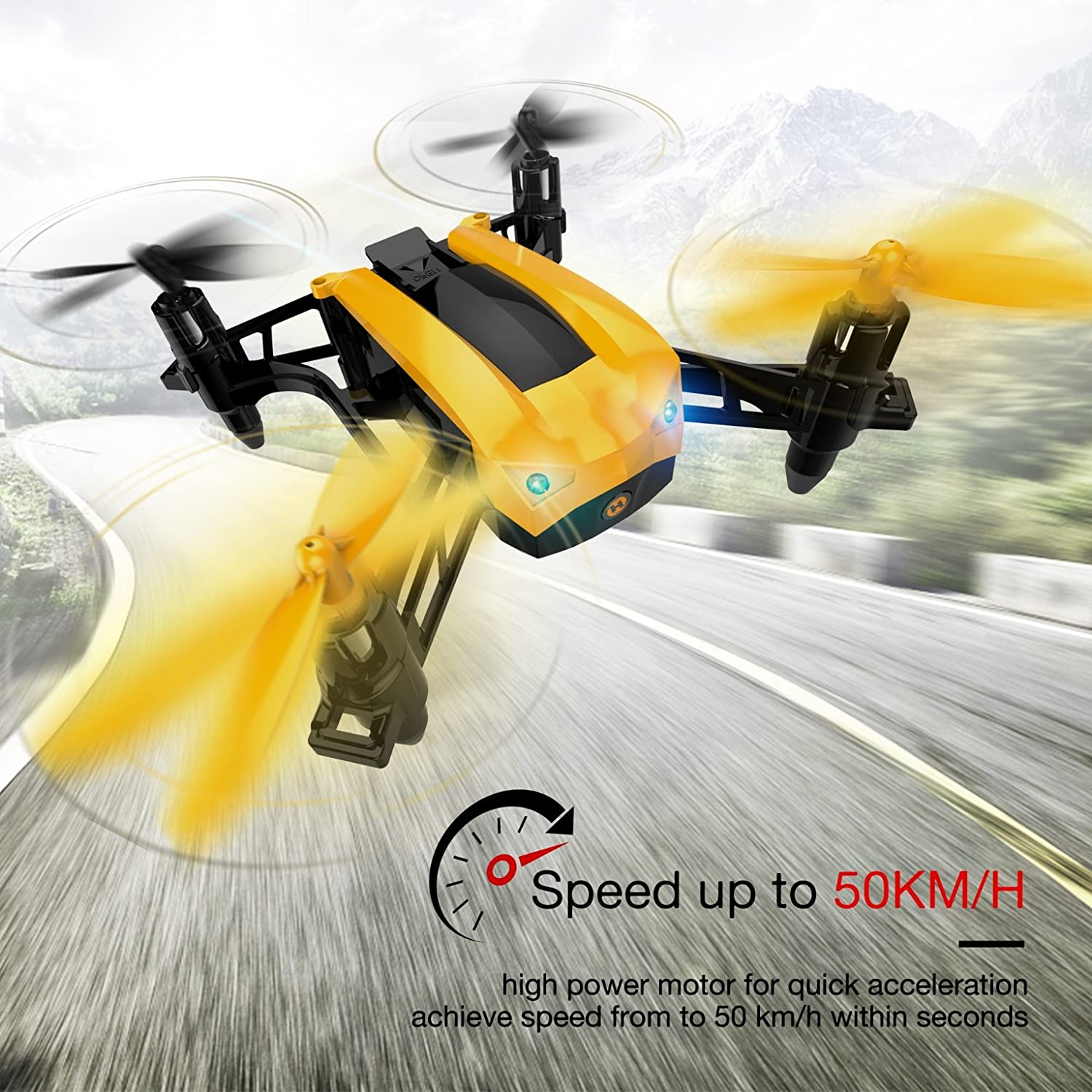 Holy Stone HS150 is at # 9 for best drones without camera.